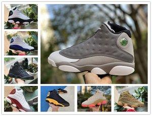 13 13s Erkek Basketbol Ayakkabı Sneakers Kadınlar Jumpman Çin Yeni Yılı Bred Ray Allen PE OG Flint Adası Yeşil Lakeres Chicago Kiraz Ayakkabı