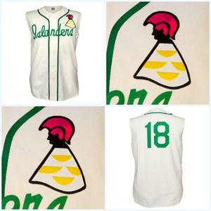 하와이 제도 모든 플레이어 또는 번호 스티치 놓은 모든 스티치 높은 품질 무료 배송 야구 유니폼 1961 홈 저지