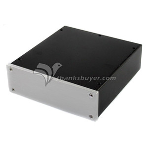 Caja de caja DAC de Shell del amplificador de auriculares de aluminio de potencia gratuita Freeshipping WA35 230x215x70mm