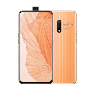Original Oppo Realme X 4G LTE Cell Phone 8GB RAM 128GB ROM Snapdragon 710 Octa Core 6.53 inch Full Screen 48MP Fingerprint ID Mobile Phone
