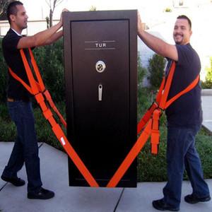 Newly Useful Lifting Moving Strap Furniture Transport Belt In Shoulder Straps Team Straps Mover Easier Conveying Storage Orange belts