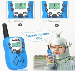Mini Walkie Talkie Kids Radio Station Retevis T388 0.5W PMR PMR446 FRS UHF Portable radio Two-way Radio Talkly Children Transceiver BY1250
