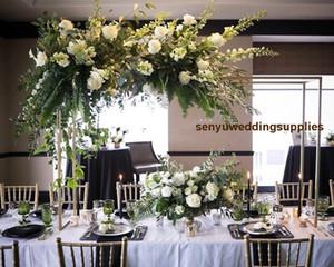 Новый стиль высокие большой и большая металлического стенд колонна ступени цветка стенда постамент для украшения свадьбы свадьбы события партии senyu0477
