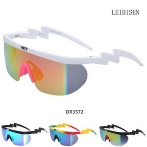 Neff Sonnenbrille Mens Frauen uv400 große Feld-Beschichtung Sun Glasses 2 Lens feminino Brillen UnisexDR3572