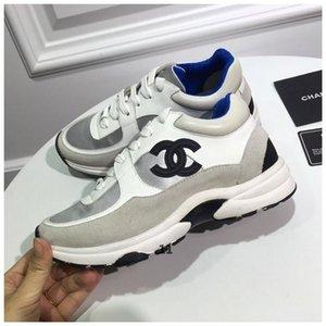 designer de luxo Dating artefato para os sapatos calçados casuais dos designers de tênis boate avançada Ouro Brown branco Preto material com caixa