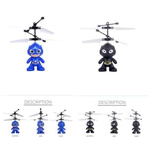 Minion drone RC Helicopter Aircraft Mini drone Fly Flashing elicottero controllo della mano RC Giocattoli Minion Quadcopter Dron LED Giocattoli per bambini (Super)