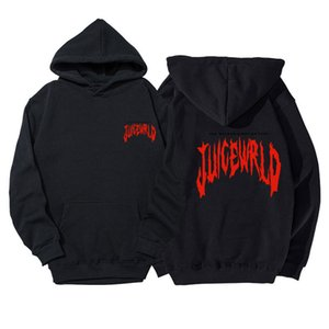 Mens Rapper Juice Wrld Hoodies Streetwear Fashion Print Hip Hop Style Cool Juice Wrld Sweatshirt hoody Male Tops