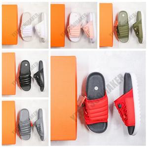 2020 Designer Shoes Asuna diapositive 20 inferiori spessi coulisse regolabile Sandali pistone dell'interno piatto Pantofole Infradito CI8800
