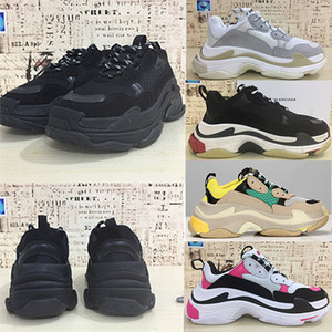 Balenciaga Triple-S shoes Running shoes Luxury Brand Designer Luxury Shoes Low Top Sneakers Triple S Zapatos para hombres y mujeres Zapatos casuales Tamaño 36-45