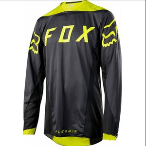 New fox downhill polyester quick-drying mountain bike clothing top off-road racing motorcycle quick-drying riding long-sleeved T-shirt with