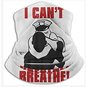 Mens Fashion Bibs 'i Cant Breathe' Letters Printing Masks Casual Mass Pageant Clothes New Black Equality Struggles High End Unisex