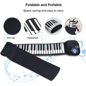 ABUO-Piano Keyboard 88 Keys Contact Sensitive Portable Keyboard with Power Supply with Foot Pedal