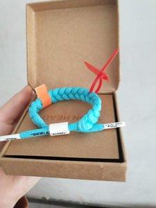 Heiße verkaufende populäre Gezeiten Marke Little Lion OW gemeinsames Modell Spitze geflochtene Armband männliche und weibliche Schüler Paar Persönlichkeit Armband