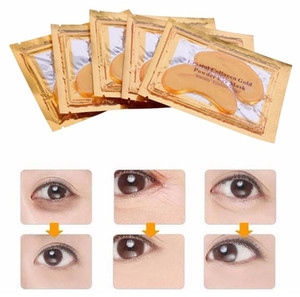 wholesale PILATEN Collagen Crystal Eye Masks Anti-puffiness moisturizing Eye masks Anti-aging masks collagen gold powder eye mask 2000pcs
