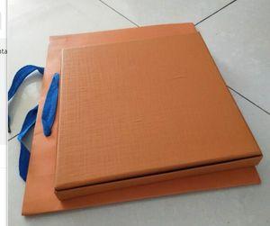meilleur mode prix de gros 2020 boîte écharpe avec sac en papier spécial et 3-pièces sac cadeau