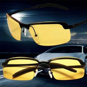 Männer polarisierten Sonnenbrille fährt Nachtsichtbrille Goggles Blendung