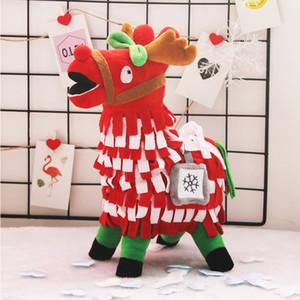 30CM Quindici Natale Bottino Troll Stash Llama Peluche Figura Alpaca Arcobaleno Cavallo Bambola farcita Giocattoli Regali per Bambini Bambini