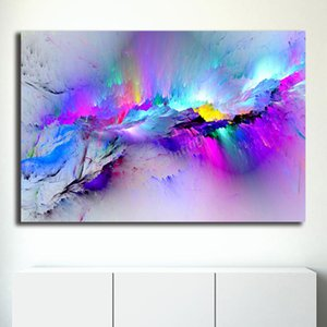 Beautiful Image Abstract People Smiling Canvas Prints Picture Modular Paintings For Living Room Poster On The Wall Home Decor