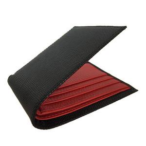 Rote Brieftasche Leder Brieftasche Deutschland Ultradünne Taschenkartenhalter Kreditkartenhalter Top Leder Dokumentenhalter Hohe Qualität Männer Geldbörse