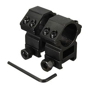 2 teile / los 25,4mm Umfang Ring Hohe Profil Fit für 20mm Picatinny Weaver Schienenmontage Taschenlampe Halterungen Jagd Zubehör Neu