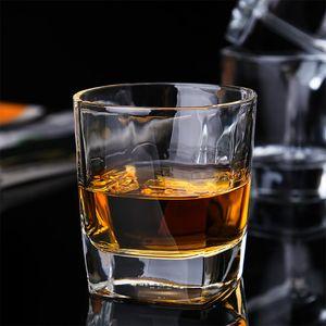 Food Grade Bleifreies Weißwein Whisky 170ml-Glas-Schale glatt Mund Cup Rim Sleek Oberfläche verdicken Bottom Bar-Becher-Schale DH0537 T03