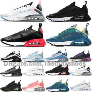 2090 Scarpe puro platino Arrivati running uomo formatori Mens Donne Anatra Camo Bred Triple Black White di alta qualità di sport scarpe da tennis Taglia 36-45