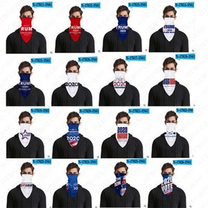 Trump 2020 3D Face Mask Scarfs Anti Dust PM2.5 Haze Protective Scarf Bandanas USA Flag Headband Cycling Headwear Earloop Scarf DHL D52814