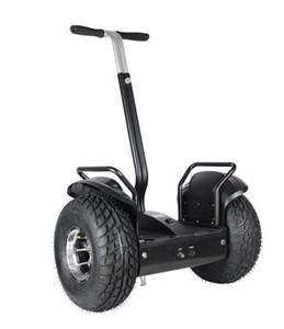 19 pulgadas Hoverboard Todoterreno 2 * 1000W super potencia del motor autobalanceo scooter de Crusing velocidad ajustable scooter de aerotabla