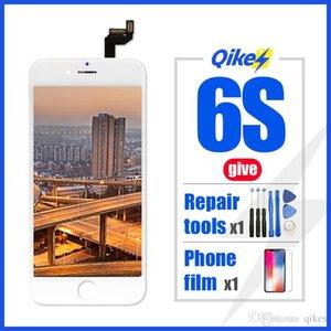 Al por menor película dar herramientas de reparación para el iPhone 6s LCD táctil del sistema completo montaje completo para el iPhone 6S reemplazo de la pantalla de visualización