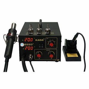 220V/110V KADA 852D+ SMD ремонтная система BGA паяльная станция горячий воздушный пистолет паяльник 2 в 1