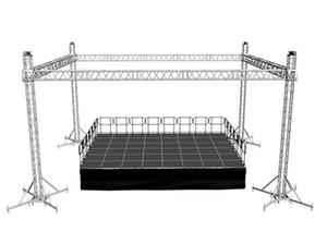 Структура ферменной конструкции рамки этапа фабрики 290x290mm алюминиевая/ферменная конструкция dj spigot освещения случая/используемая алюминиевая ферменная конструкция