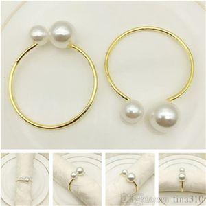 perla tovagliolo Fashion fibbia hotel filo di ferro del tovagliolo fibbia L'ultimo anello T9I006 decorazione tovagliolo