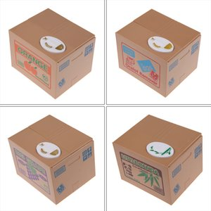 Automated Cat Steal Money Bank Electric Panda Piggy Bank Stole Coin Moneybox Ornament Tool Children Toys Gifts Money Saving Box