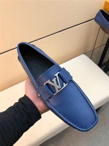 louis vuitton Lv 2019ss uomini in vera pelle business scarpe di design di lusso di alta qualità grind arenacei tempo libero e business dual purpose antiscivolo 3 colori