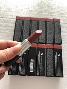 Dernier né Marque Velvet Teddy M Lipsticks Maquillage Rouge à lèvres mat pour femmes Boîte cosmétiques avec l'anglais Nom DHL Fast Shipping