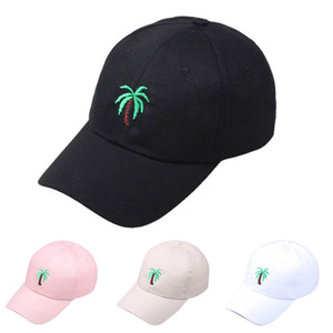 Unisex Baseballcap Summer Outdoors Palm tree Printed Visor Baseball Cap Adjustable Hat Czapka baseballowa Casquette de baseball