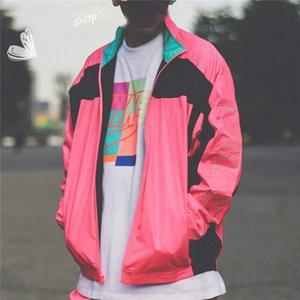 Rompevientos chaqueta del diseñador para hombre de lujo de la cremallera suéter para hombre de deporte unisex del deporte activo Hip Hop Oudoor B100456X