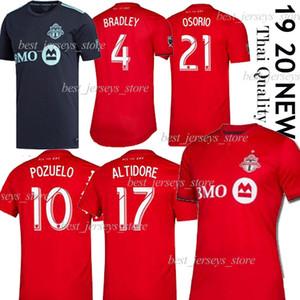 2019 nueva Toronto FC x Parley fútbol jerseys 19 20 # 17 # 10 ALTIDORE POZUELO la camisa del fútbol 2020 camisas Toronto Morrow BRADLEY Fútbol Uniforme