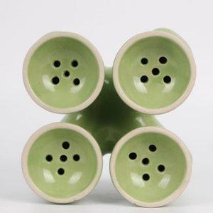 Commercio all'ingrosso di set completo di parti di mobili per cestini di fumi di carbonio in barre di un nuovo club notturno in vaso ceramico fume