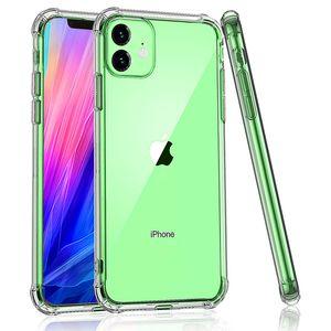 الاكريليك الغطاء القضية ضد الصدمات شفاف الهجين الدرع الصلب للخلف الهاتف لفون برو 11 ماكس XR XS MAX 8 زائد سامسونج S10 Note10