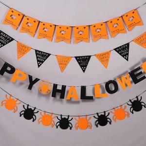 Tema de Halloween Bonito Decorativ Edecoupage Festival Partido Não-tecido Feltro Edcoupage Bar / Home Cenas Artigos Criativos Criativos