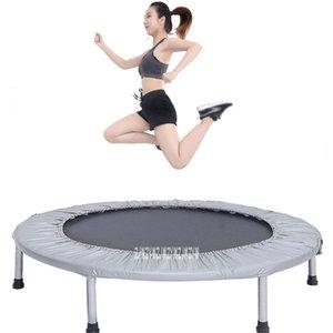 C156 36 дюймов Дети Lady Похудеть Нога для похудения батут Home Gym Упражнение Складной прыгающий Прыжки кровать Фитнес оборудование