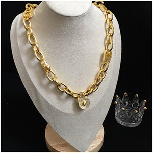 Mens Women Iced Out Hip Hop Chain Pendants Luxury Designer Jewelry Men Women Diamond Necklace Big Pendant Bling Charms Cuban Link Hiphop