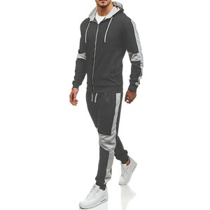 2020 New Hoodies male sleeve men suit sport hoodies Pure color hoodie Student youth hoodie Interesting cotton clothes harajuku