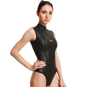 2019 mujeres de buceo de manga larga wetsuit CR buceo caliente mujeres del desgaste de buceo buceo de neopreno de 3 mm de desgaste