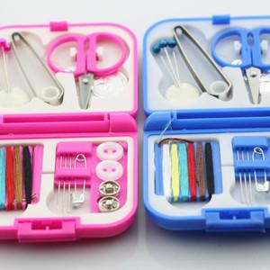 20Pcs / Set Portable Travel Box Kitting Needls Tools Quilting Thread Siticking Craft Sewing Plates Home Organizer
