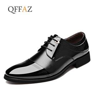 Chaussures habillées pour hommes QFFAZ Business Shoes Men Formal Élégant Doux Hommes Oxford Livraison gratuite