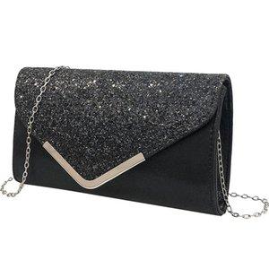 New handbags messenger small bag dress evening bag banquet fashion wild clutch women leather handbags