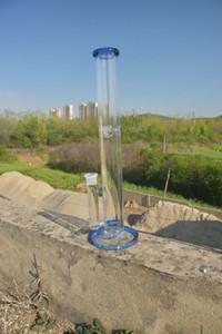 유리 물 담뱃대 스트레이트 파이프 봉 18mm 공동 공장 직접 가격 양보