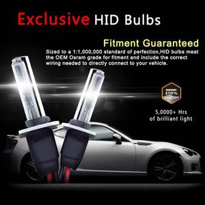 CAR 2PCS 55W HID Xenon Conversion Kit With Slim Ballast - H3 - 6000K - 2 Bulbs & 2 Ballasts